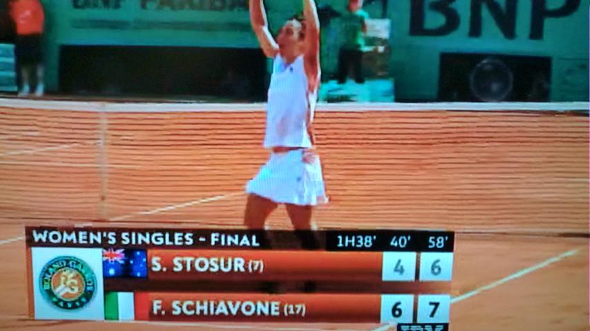 2010全仏オープンテニス女子