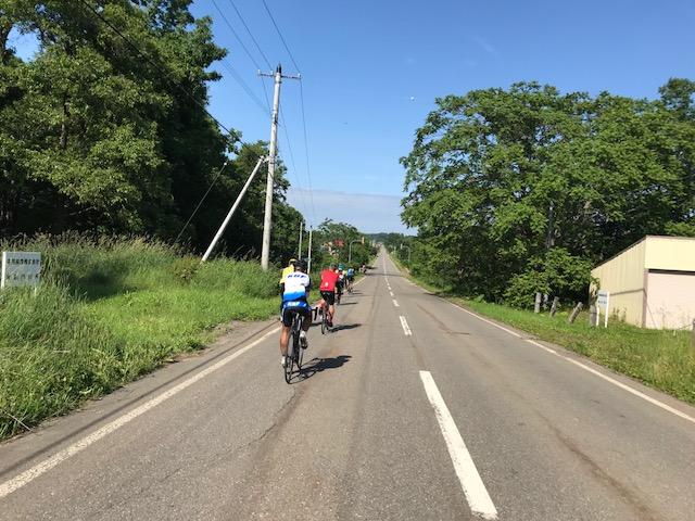 北の大地でサイクリング